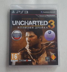 PS3. Uncarted 3. Оьмен.