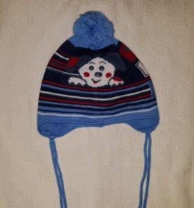 Детская шапка на осень-зиму