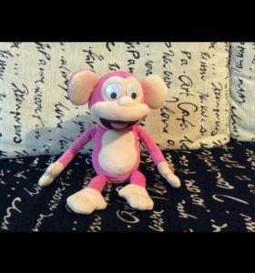 Интерактивная игрушка обезьянка
