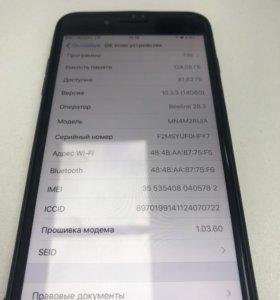 iPhone 7 Plus 128Gb Black(matte)