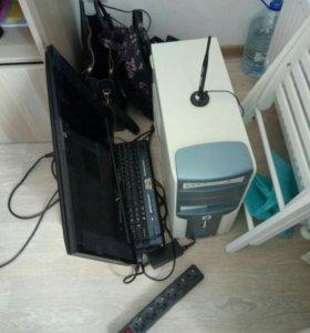 Компьютер (Системник+Монитор+Клавиатура)