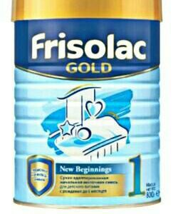 Frisolac Gold 1, с пребиотиками, 0-6 месяцев, 800