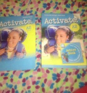 Учебник по английскому Activate и рабочая тетрадь