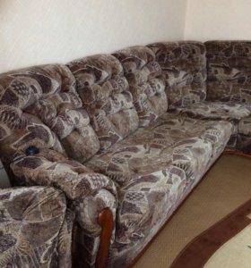 Мягкий уголок и кресло