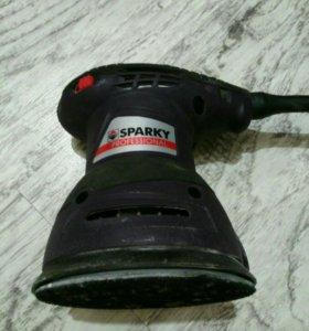 Эксцентриковая шлифмашина SPARKY EX 125E