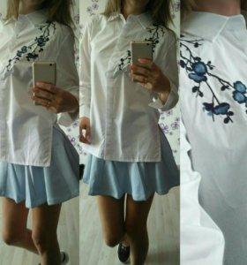 Рубашка юбка новые