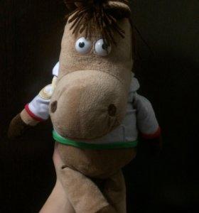 """игрушка мягкая """"лошадь"""""""