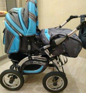 Детская коляска трансформер Adamex nano