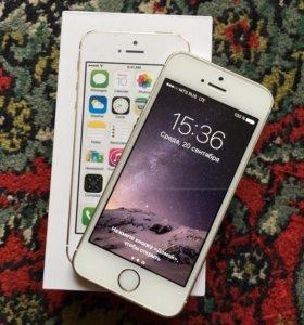 iPhone 5S 16ГБ Gold