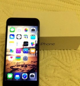 iPhone 6, 16Gb space gray