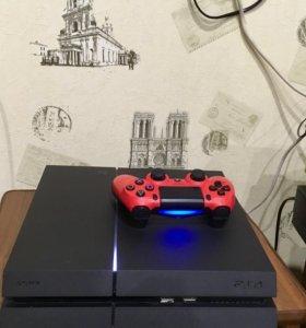 PlayStation 4 (500gb) с аккаунтом