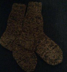 Мужские носки ручной вязки