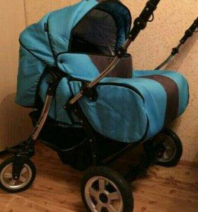 Детская коляска для двойни