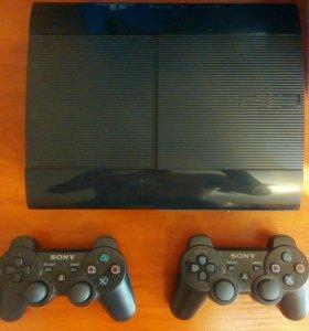 PlayStation3+22 Игры+2Джойстика