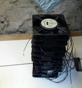 Вентиляторы новые.