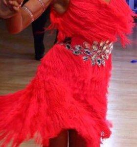 Конкурсное платье латина