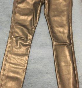 Кожаные штаны(лосины)