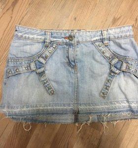 Юбка джинсовая 42-44 размера