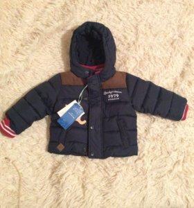 Куртка детская.Не ношеная74 см осень/зима babygo