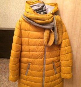 Зимнее пальто. Размер 48-50