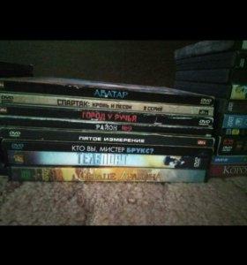 Диски видеофильмы DVD