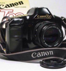 Canon T90 Зеркальная Пленочная Фотокамера