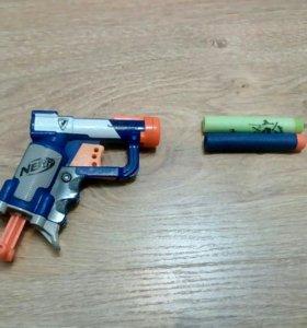 Пистолет нёрф + пули