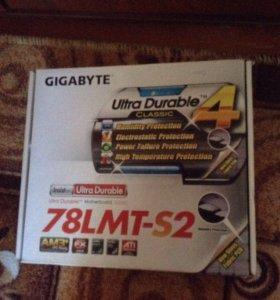 Материнская плата Gigabyte 78LMT-S2 (AM3+)