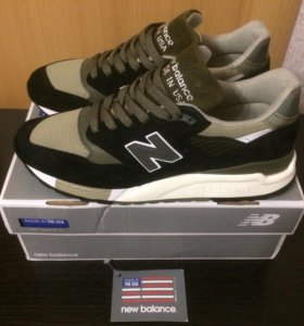 Кроссовки New Balance 998 Suede Made in the USA