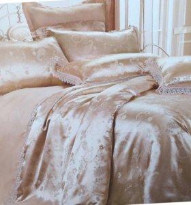 белье постельное комплект евро размер