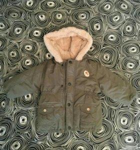 Детская куртка парка, демисезон, размер 80-86
