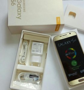 Samsung Galaxy S6 Gold 32GB Новый
