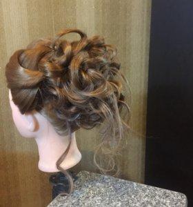 Вечернии причёски, стрижки,покраска волос...