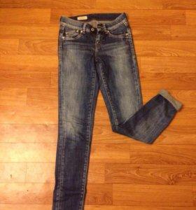 1- джинсы Pepe jeans; 2- жилет gas; 3-miss sixty