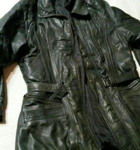 куртка кожаная (очень мягкая) мужская 52-54разм