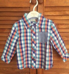Рубашка новая р-р 74