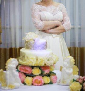 Свадебное платье(Торг)