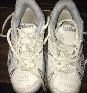 Шикарные детские теннисные кроссовки 28-29 р-р