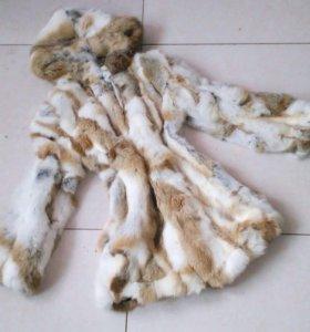 Продаю шубу нат кролик
