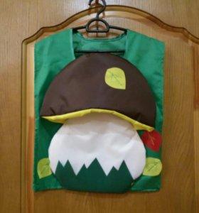 Карнавальный костюм гриб 5-10 лет