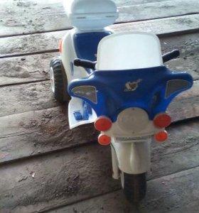 Детский мотоцикл с электроприводом