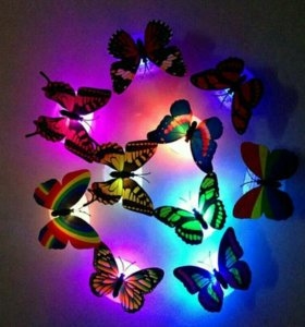 Мигающая бабочка