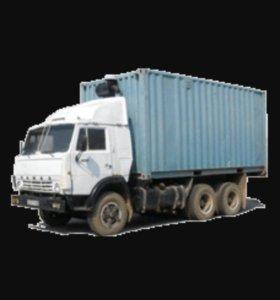 Грузоперевозки на КАМАЗ контейнер, переезды