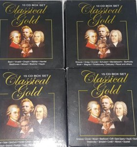 Золотая коллекция классической музыки 50 дисков