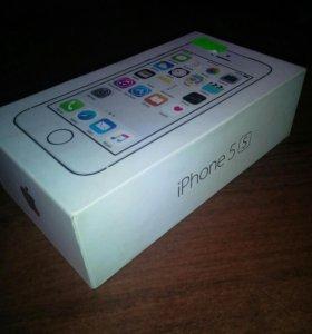 Коробка от iphone 5s+ чехол