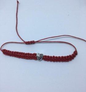 Красная нить,браслет