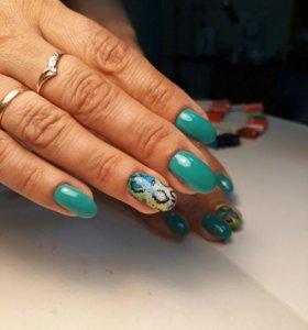 маникюр и покрытие ногтей гель лаком