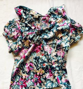 Шелковая блузка UTAS