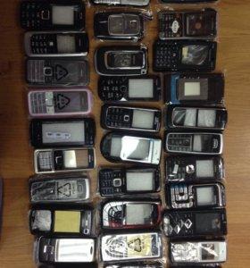 Корпуса для сотовых телефонов Нокиа.
