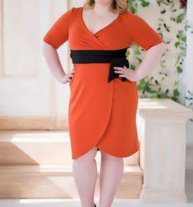 Изысканное платье для пышной женщины